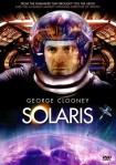 George Clooney looks at us through a space helmet on the movie poster.