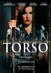 Kathleen Robertson, as Evelyn Dick, peers out from behind prison bars on the movie poster.