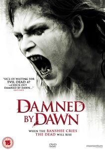 A possessed character snarls on the movie poster.