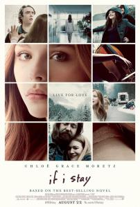 Chloë Grace Moretz, tiled, with a number of other shots from the movie, graces its poster.
