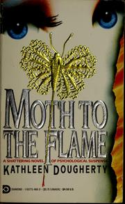 A lapel pin in the shape of a moth sominates the cover of the book.