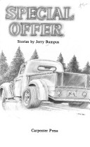 A line drawing of a pickup truck adorns the book cover.