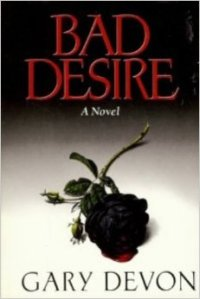 A black, bleeding rose adorns the cover of the book.