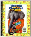 The big elephant in a natty suit and yellow cap adorns the cover of the book.