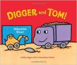 Digger and Tom (err, Skip) pose on the book cover.