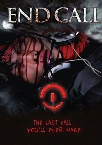 A bloody teenager's body lies dead on a phone's wallpaper on the movie poster.