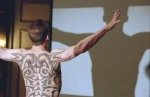 Dolarhyde indulages his megalomania in a still from the film.