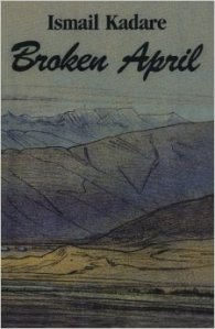 A stylized painting of the Albanian mountains graces the book's cover.