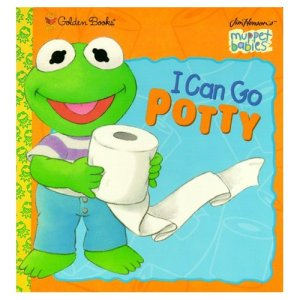 Kermit holds a roll of toilet paper on the cover.