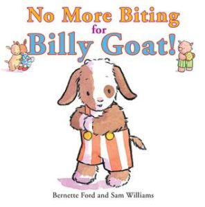 Billy Goat looks nervous on the book cover.