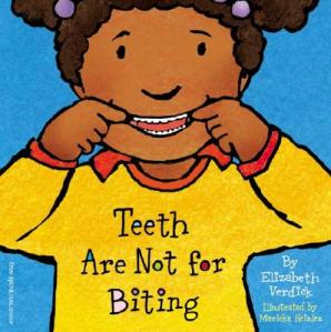 A girl shows off her pearlies on the cover.