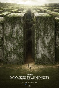 A pair of ant-sized figures make their way to the massive doors at the edge of the glade on the movie poster.