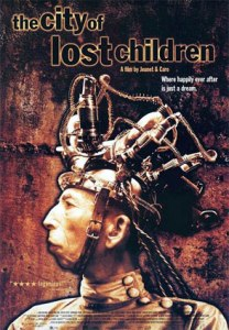 The Doctor, with one of his insane contraptions on his head, adorns the movie poster.