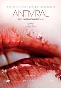 Hannah Geist's bloodied lips adorn the movie poster.